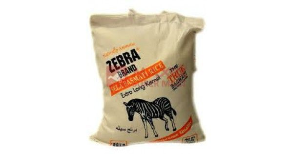 Zebra Brand Basmati Rice now available online at lowest guaranteed