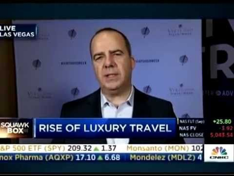 Virtuoso Chairman & CEO Matthew Upchurch appears on CNBC's Squawk Box to discuss luxury travel trends, opportunities, and the industry's largest event – Virtuoso Travel Week.