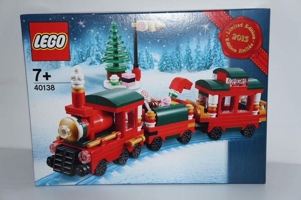 LEGO 2x WINTER/XMAS SET 40262+40263 TRAIN RIDE + CHRISTMAS TOWN ...
