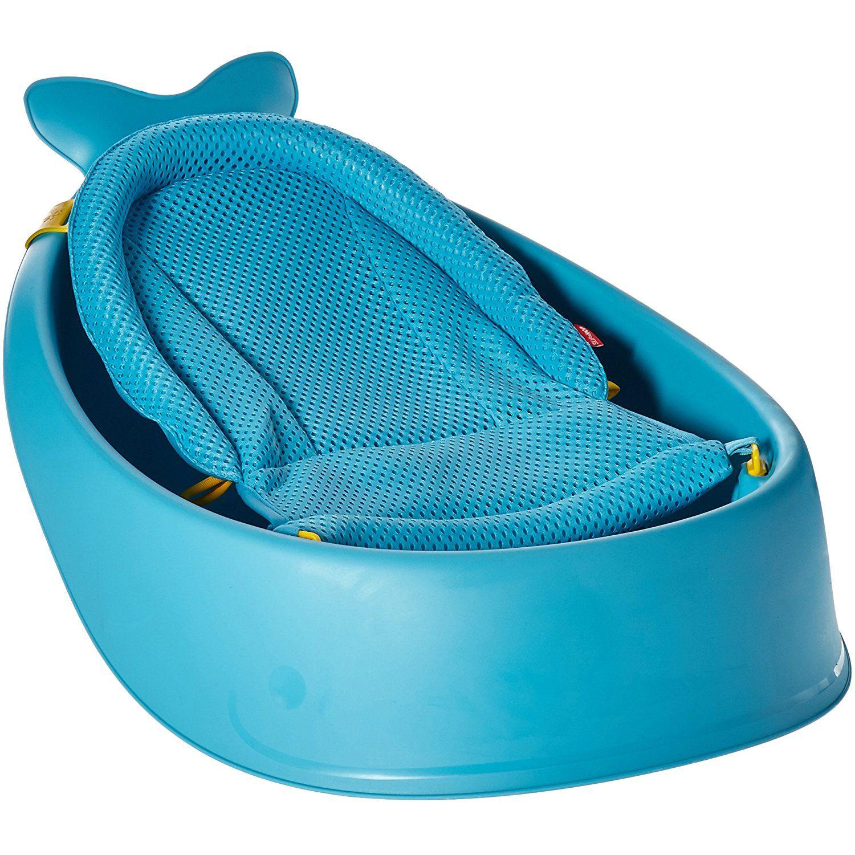 Skip Hop Moby Bath Smart Sling 3-Stage Bathtub, Blue ** Visit the ...