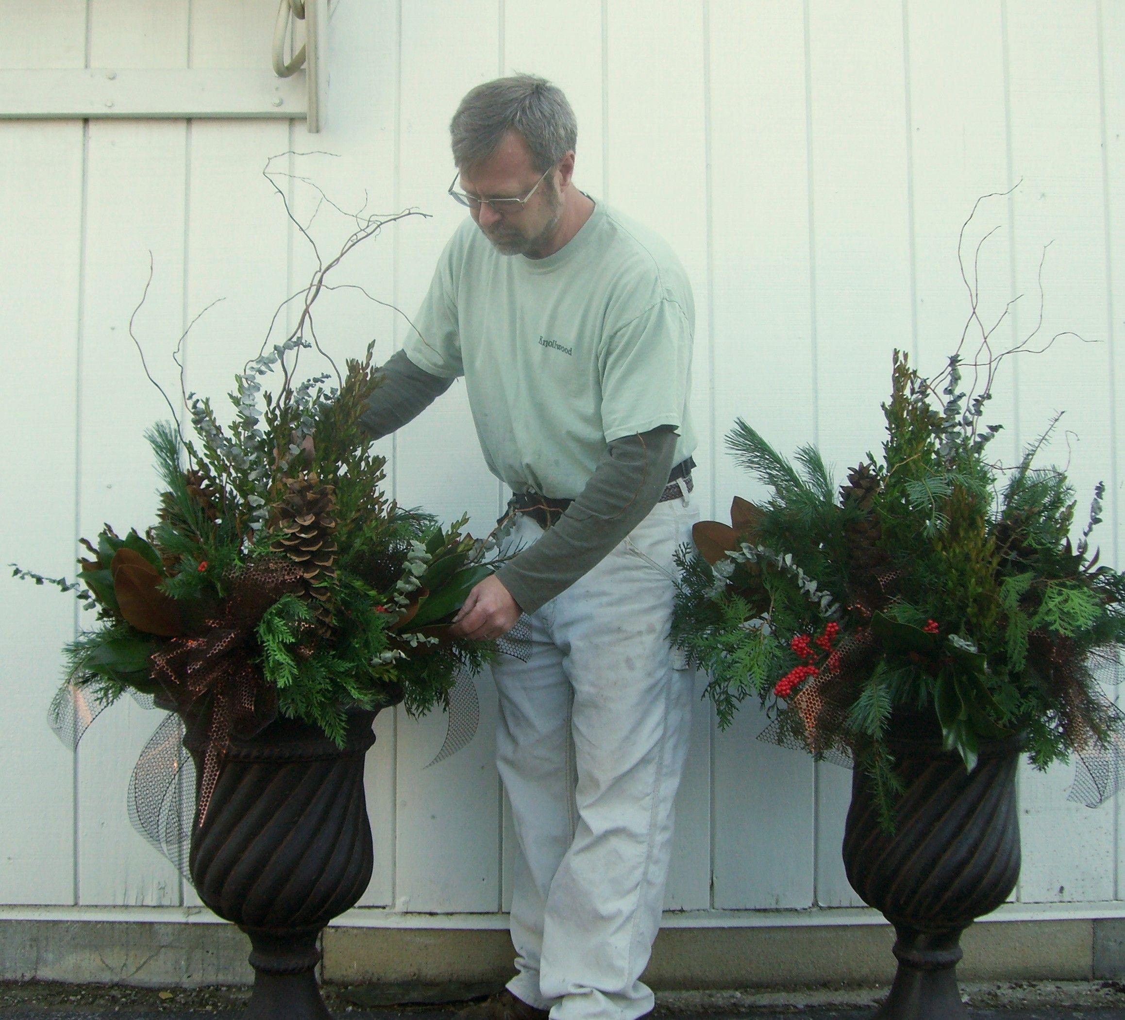 Creating Outdoor Holiday/Winter-season