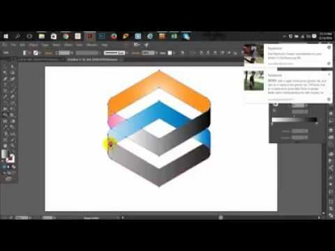 how to create 2d logo on photoshop cs6 photoshop cs6 logo tutorial