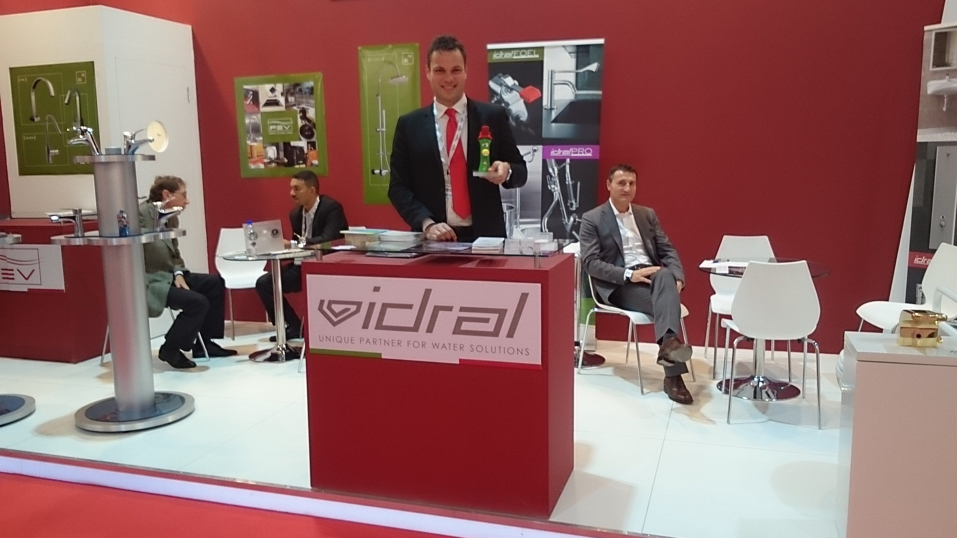 Introducing the IdralKIDS line in our stand at Big 5, International Construction & Building Show, Dubai, November 17-20 2014