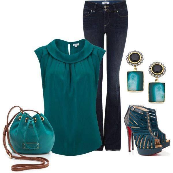 azul petroleo  Ropa de moda