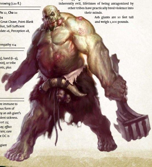 Ashe giant | Fantasy/Pathfinder | Pinterest