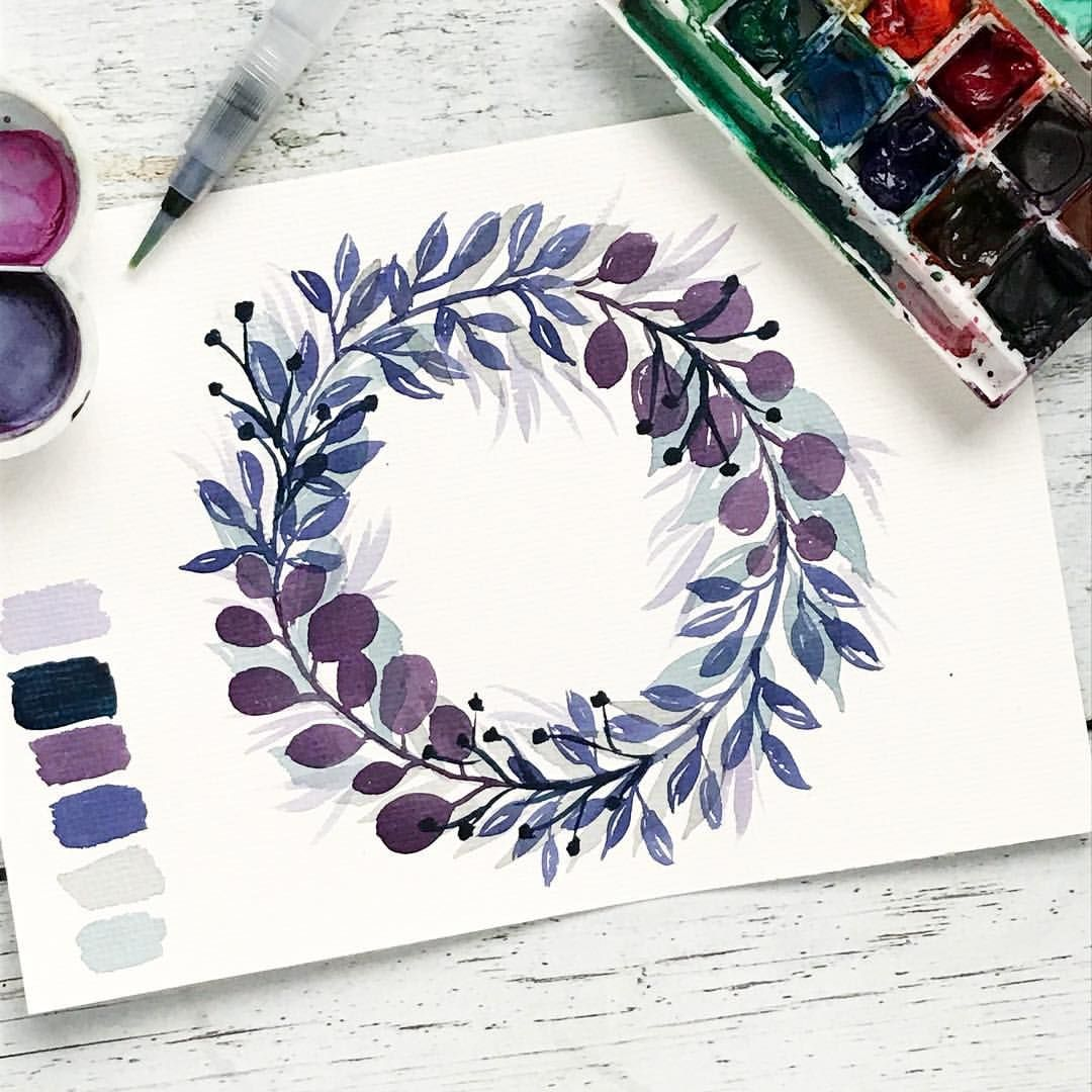 """Photo of Girl art on Instagram: """"Flower wreaths always go obeiWhile this winter wreath no longer fits, in this spring-like weather 🌸😄"""""""