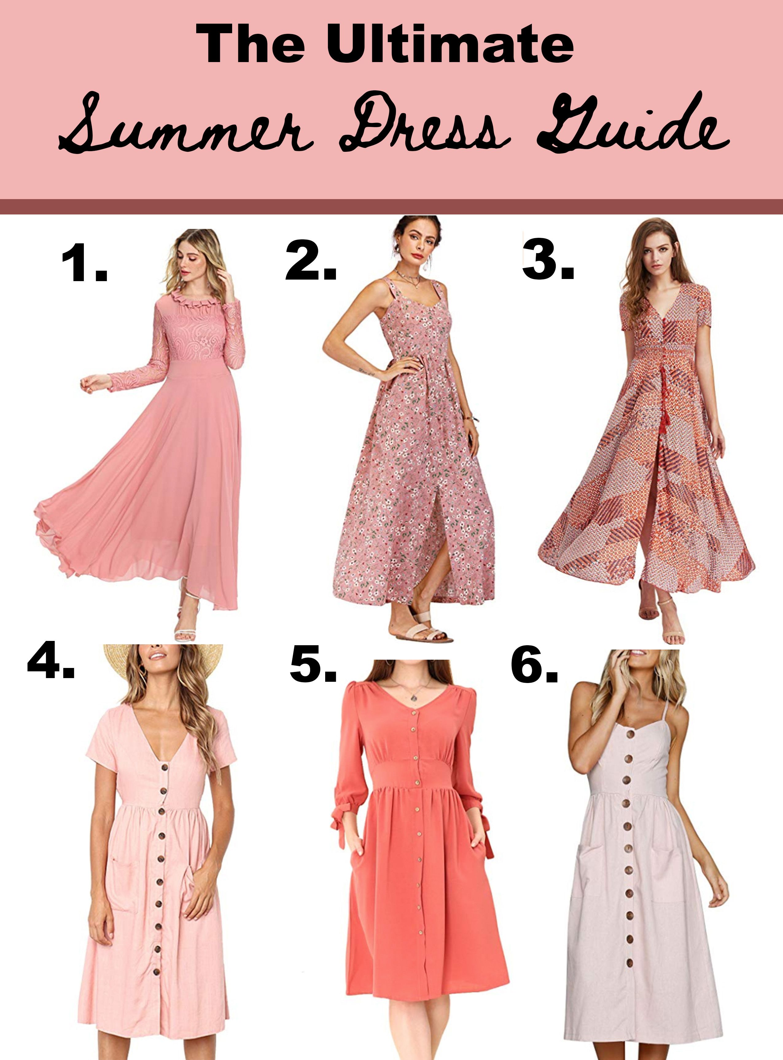 Ultimate Summer Dress Guide From Amazon Summer Dresses Clothes For Women Dresses