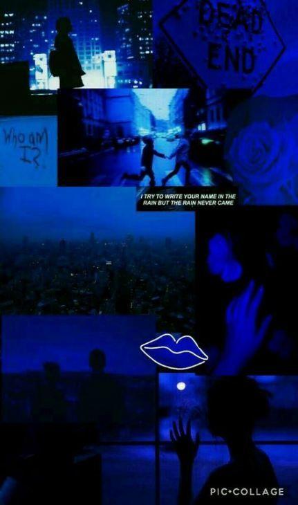 Aesthetic wallpaper grunge blue 39+ super ideas