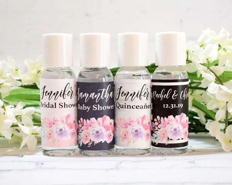 Bride To Be Pocketbac Hand Sanitizers 5 Pack Bath And Body