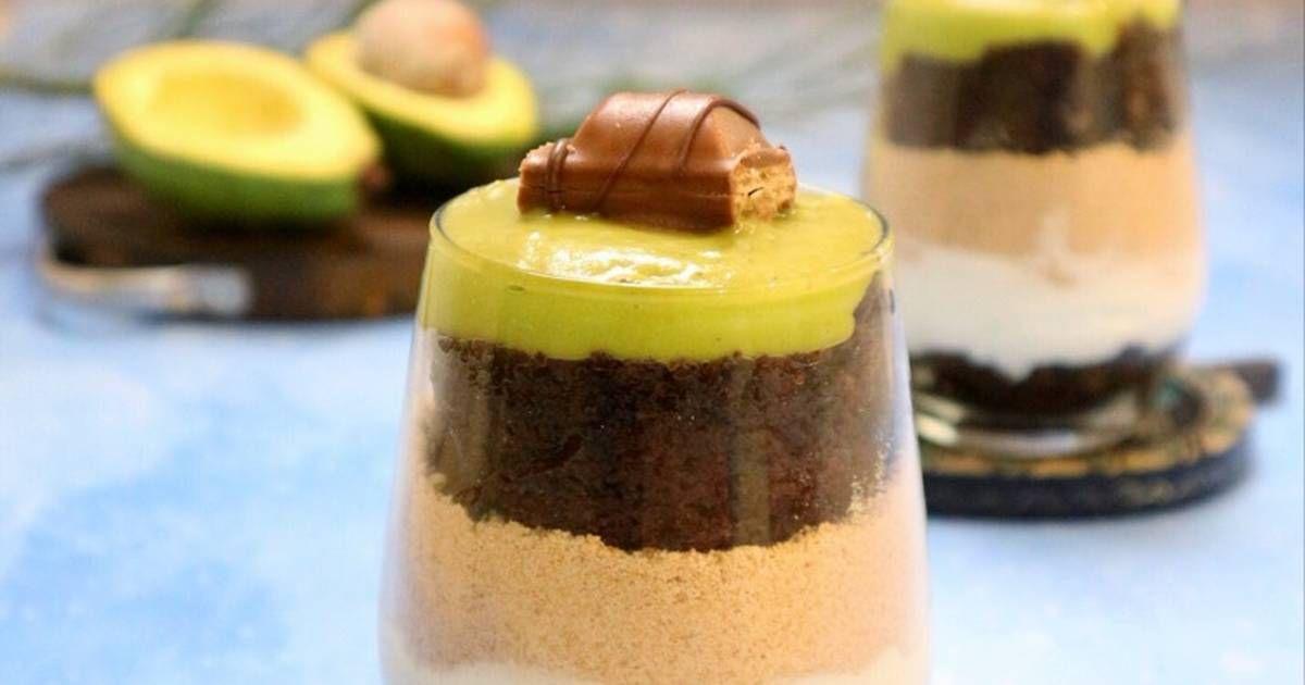 Resep Avocado Brownies Browkatcookpad Oleh Moona S Kitchen Resep Makanan Resep Brownies