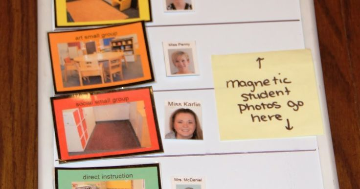 Organizing Centers in an Early Childhood Special Education Classroom Organizing Centers in an Early