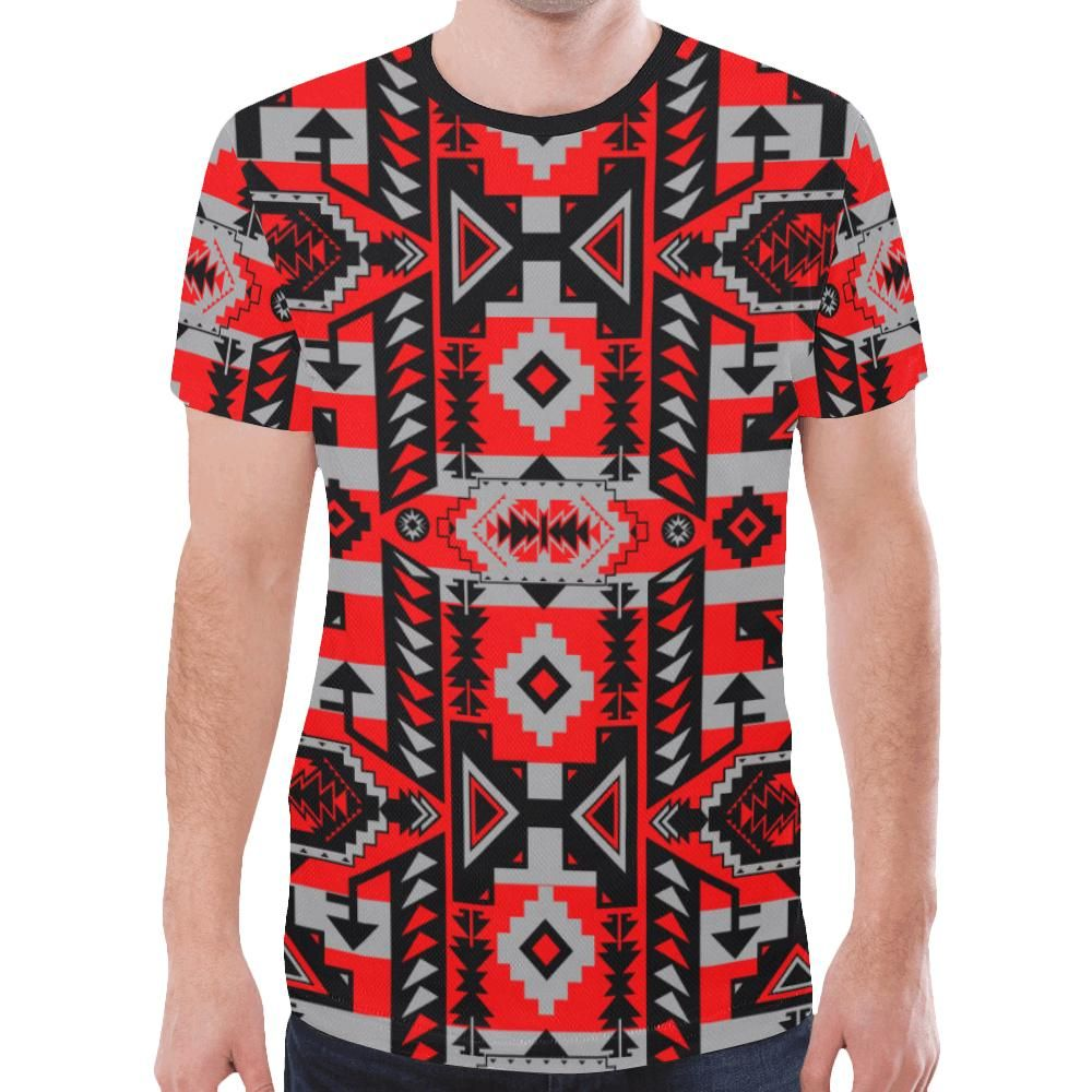 T-shirt Chiefs Mountain Candy Sierra New All Over Print pour homme (Modèle T45) – XXXL   – Products