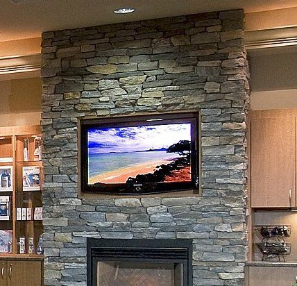 stone fireplace with tv natural stone veneer fireplace choosing stone architectural - Fireplace With Stone Veneer