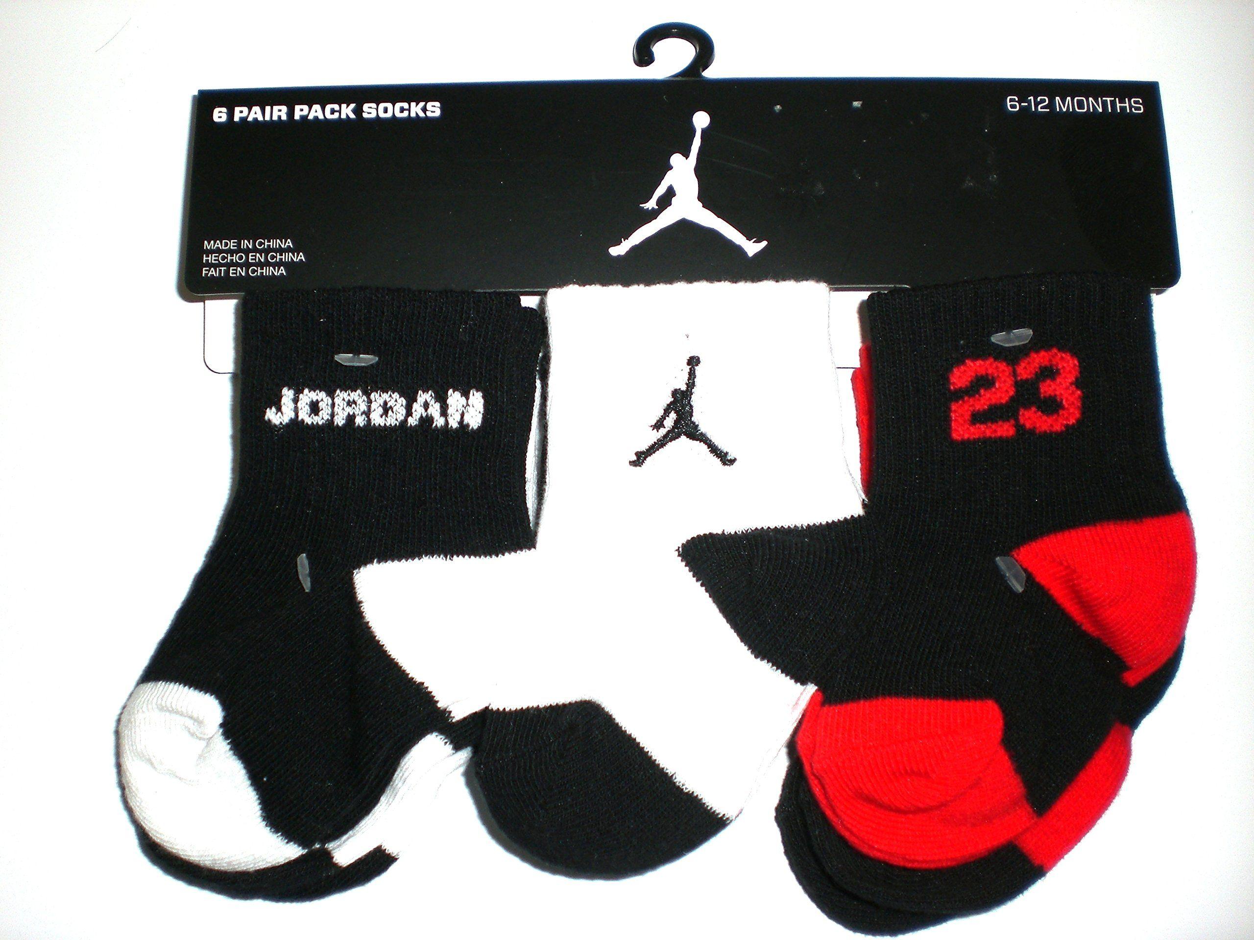 a7ea915d59df3c Nike Air Jordan Newborn Baby Socks