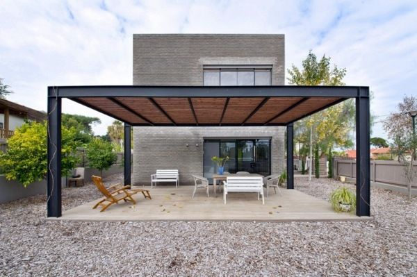 Covered Terrace 50 Ideas For Patio Roof Of Modern Houses