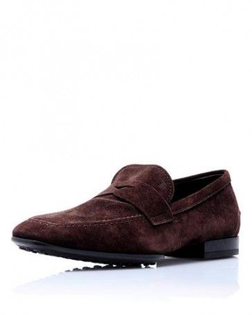 Tod's Genuine Leather Soft Moc Loafers - Loafers - Shoes at Viomart.com