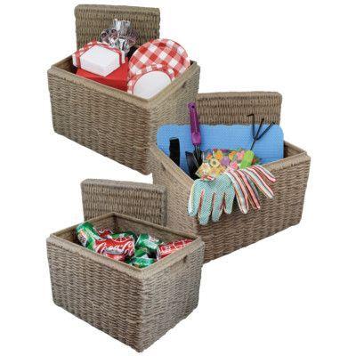 Incroyable Soldura Outdoor Storage Basket