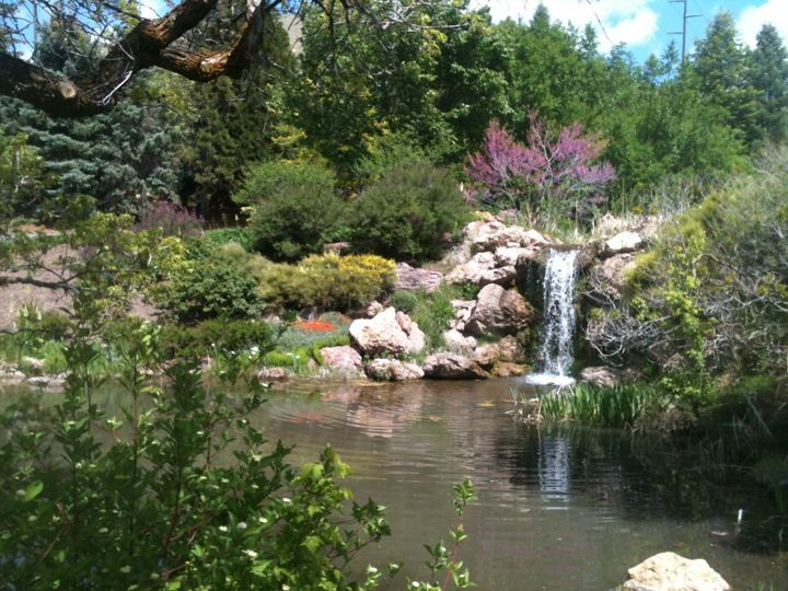 Red Butte Garden ~ Many Gardens To Stroll Through, A Fish Pond, And Also