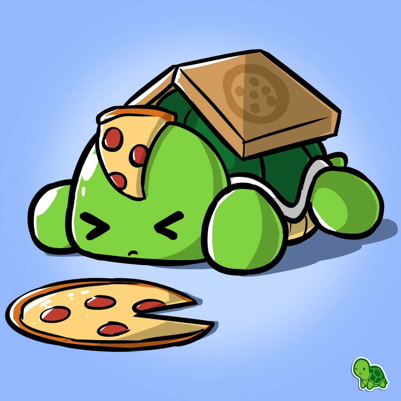 Pizza Turtle | Kawaii | Pinterest