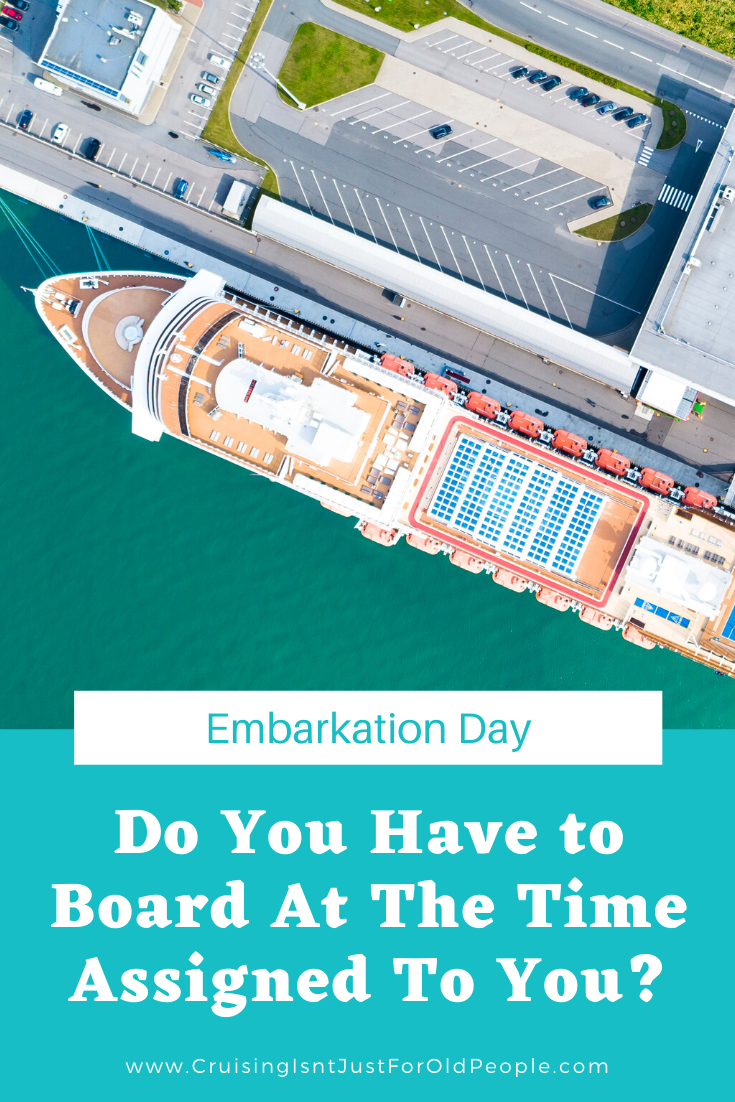 How Early Can You Board a Cruise Ship? in 2020 | Cruise ...