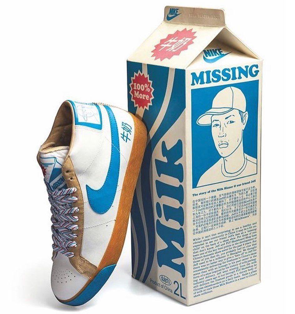 2007 Nike SB Blazer Milk Crate, a