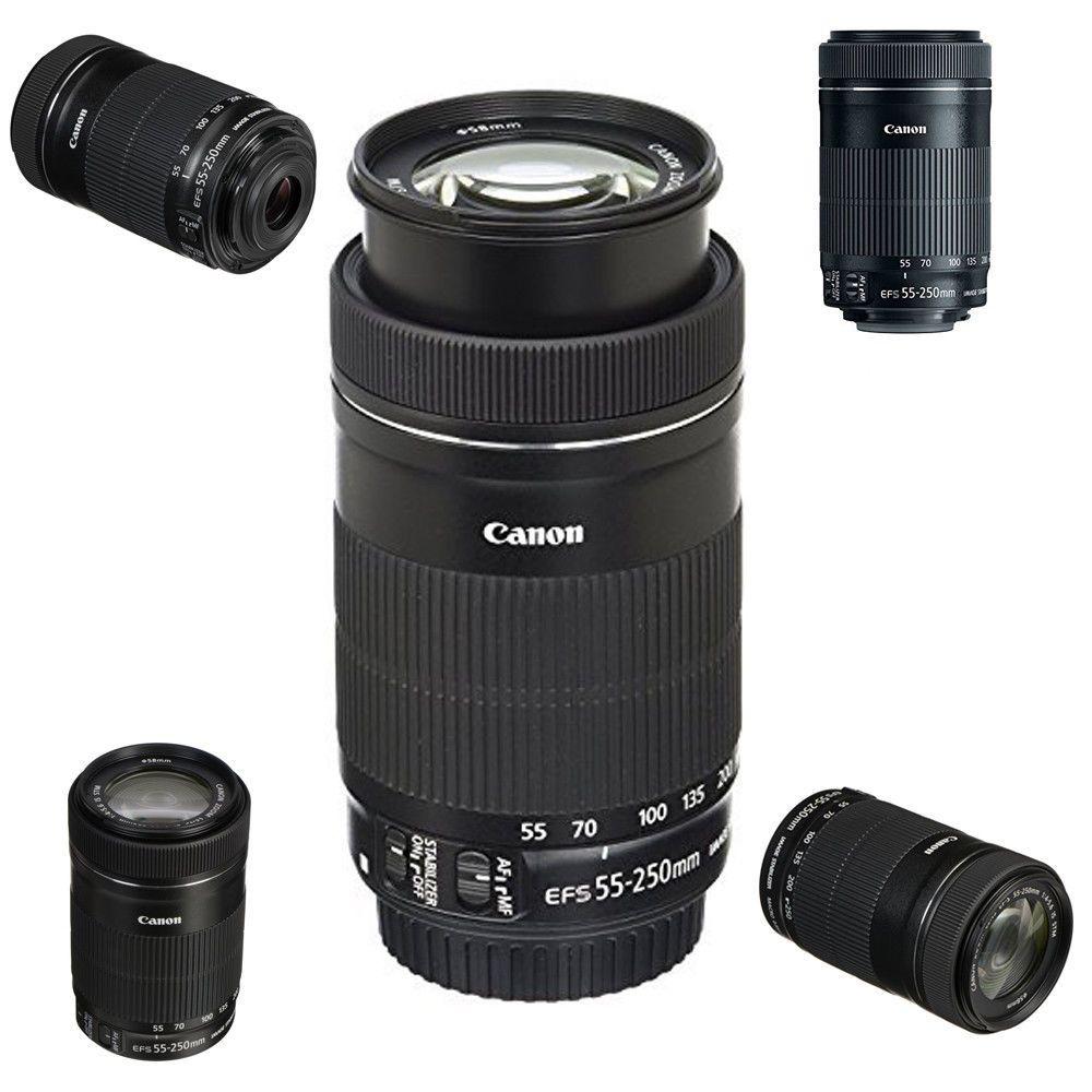 Ef S 55 250mm F4 5 6 Is Stm Lens For Slr Cameras Rear Focus System Refurbished Doesnotapply Slr Camera Lens Camera