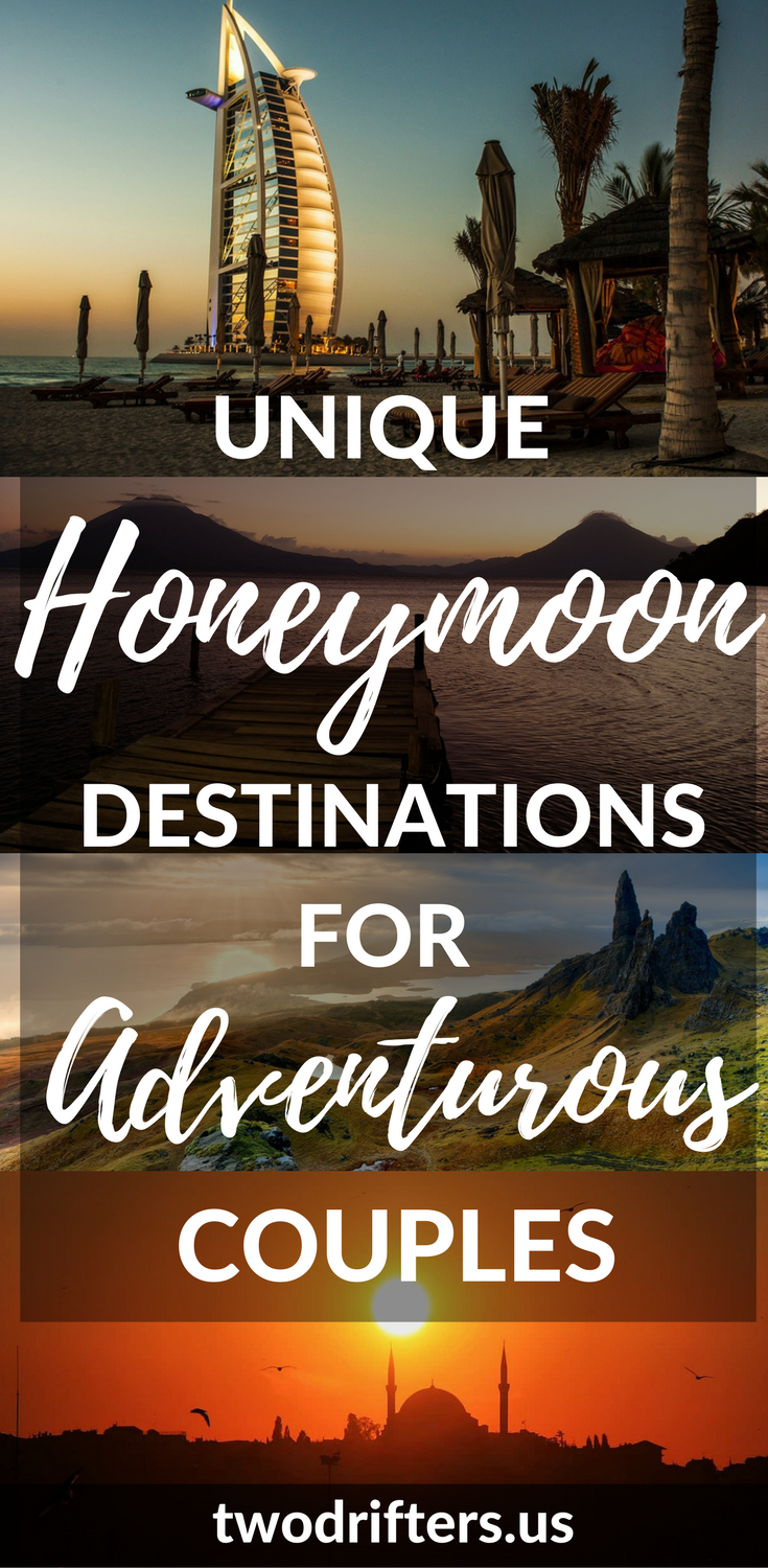 The Best Honeymoon Destinations For Adventurous Couples
