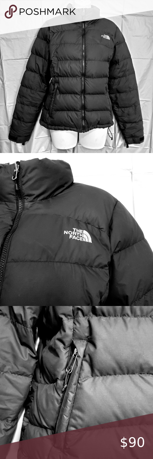 The North Face 700 Black Puffer Down Jacket Coat M Black Puffer The North Face North Face 700 [ 1740 x 580 Pixel ]