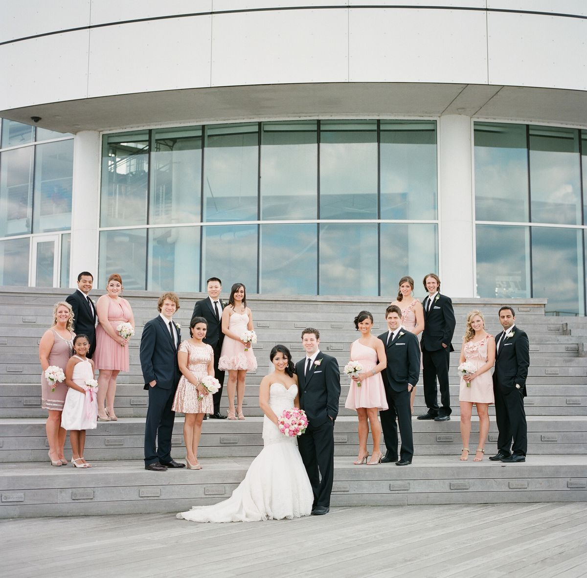 PIER WISCONSIN MILWAUKEE WEDDING | Wisconsin, Blush color palette ...