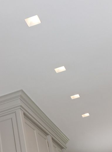 Square Recessed Lighting Ceilings Pinterest Squares
