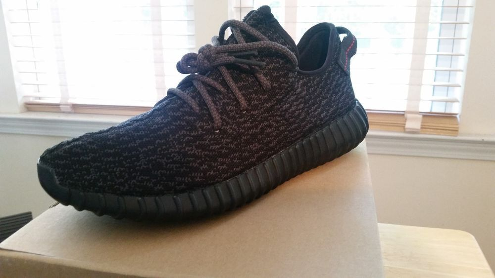 608a5daaf98 adidas Yeezy Boost 350 color  Pirate Black style  AQ2659 size 10.5  fashion   clothing  shoes  accessories  mensshoes  athleticshoes (ebay link)