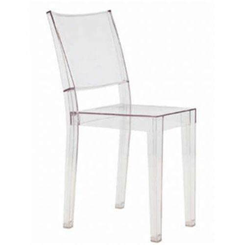 Philippe Starck Style Square Ghost Chairs