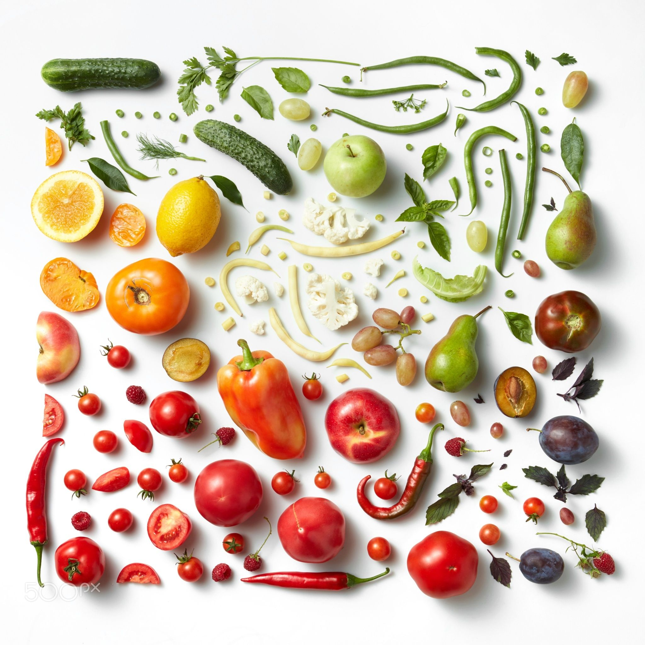 Healthy Eating Background Healthy Eating Pattern Background Studio Photography Of Dif Different Fruits And Vegetables Food Backgrounds Vegetables Photography