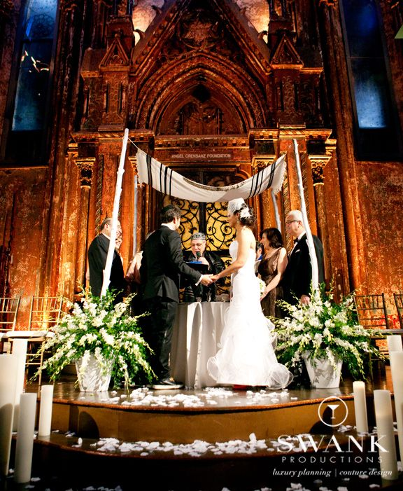 Ancient Jewish Wedding: Traditional Chuppah With Tallis (Tallit) {Swank