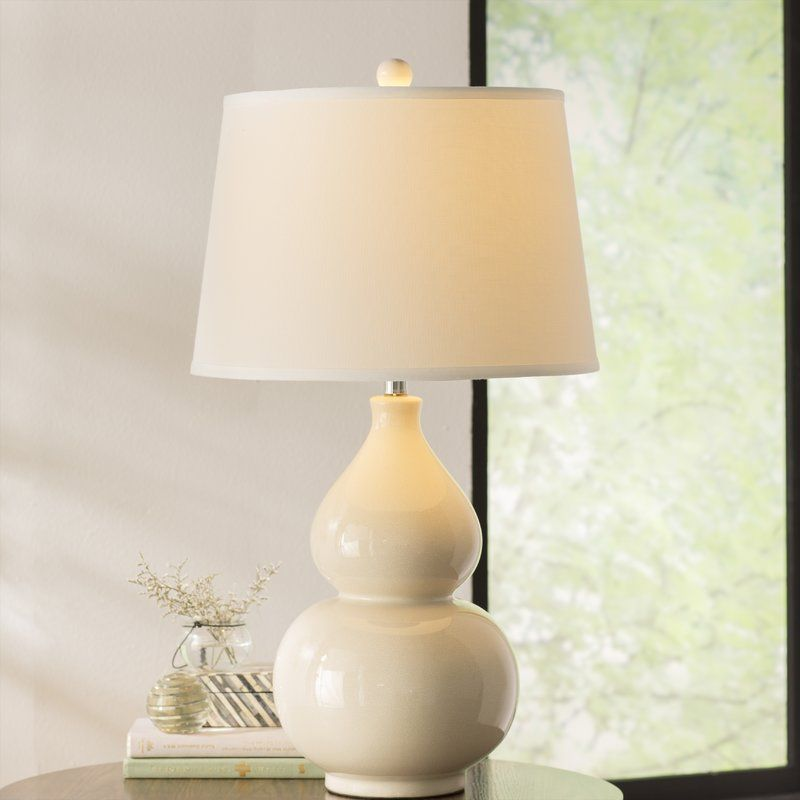 Pin By Redbird Redesign On For The Home Table Lamp Cream Table Lamps Lamp