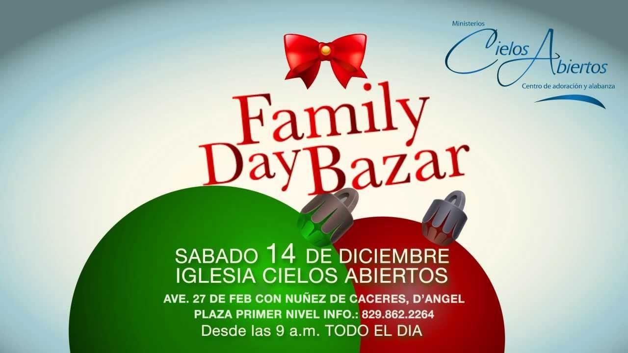 Family Day Bazar de Cielos Abiertos