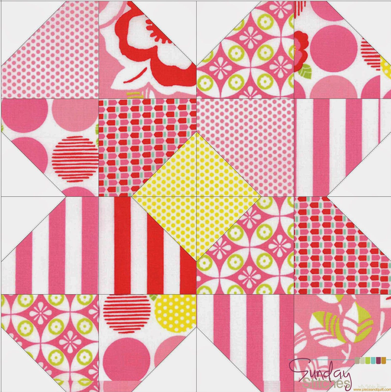 How To: Simple Spring Mini Quilt