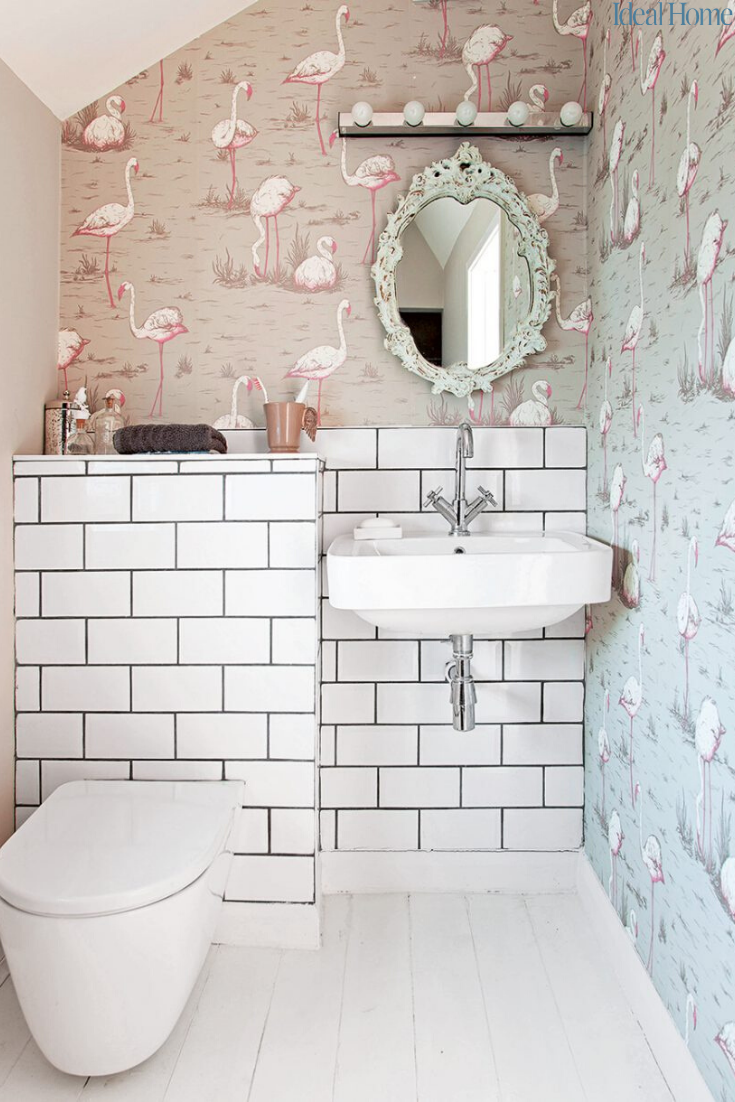 Cloakroom Ideas That Make The Most Of Your Small Space And Downstairs Toilet Find Your Ideal Style In 2020 Small Toilet Room Downstairs Toilet Small Downstairs Toilet