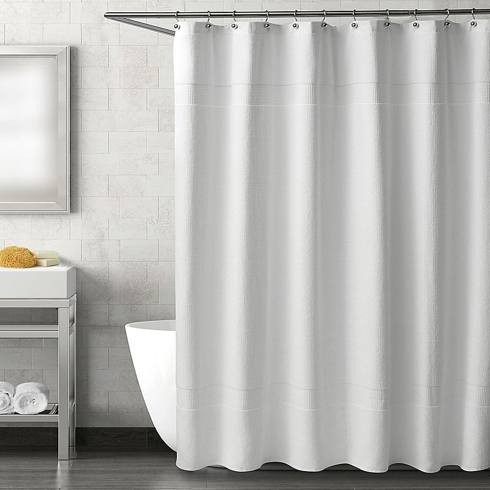 Haven Serenity 54 X 78 Stall Shower Curtain In White Curtains