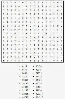 Pasatiempos Para Imprimir Sopa De Números Nº 8 Sopa De Numeros Hojas De Trabajo De Matemáticas Fichas De Trabajo