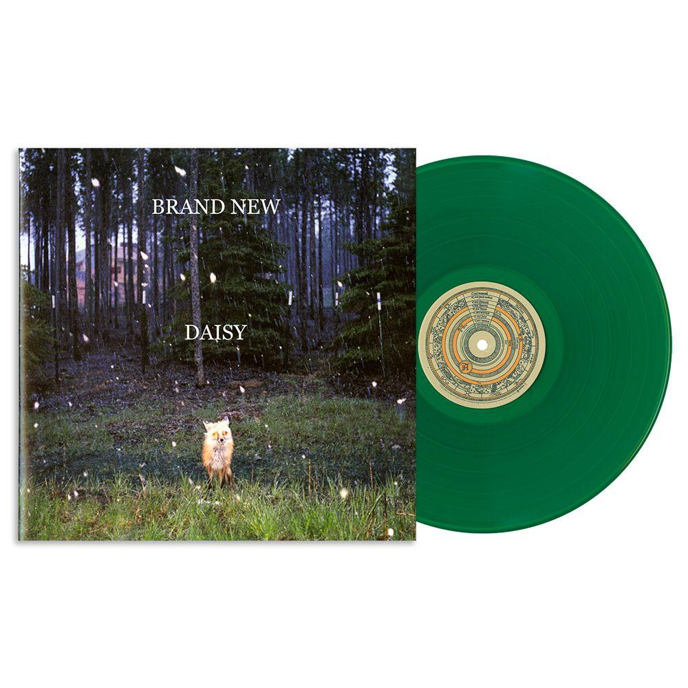 Brand New Daisy Lp Green Blue Vinyl Vinyl Jesse Lacey