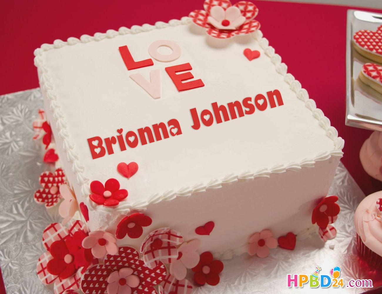 Happy Birthday Cake For Lover With Name Edit Happy Birthday