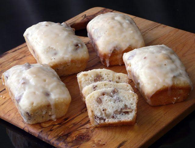 Walnut Lemon Loaves
