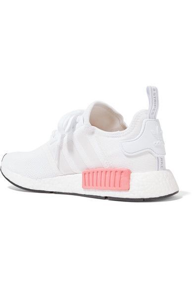 premium selection d3d8f 587f0 adidas Originals - Nmd r1 Rubber-paneled Mesh Sneakers - White https   tmblr