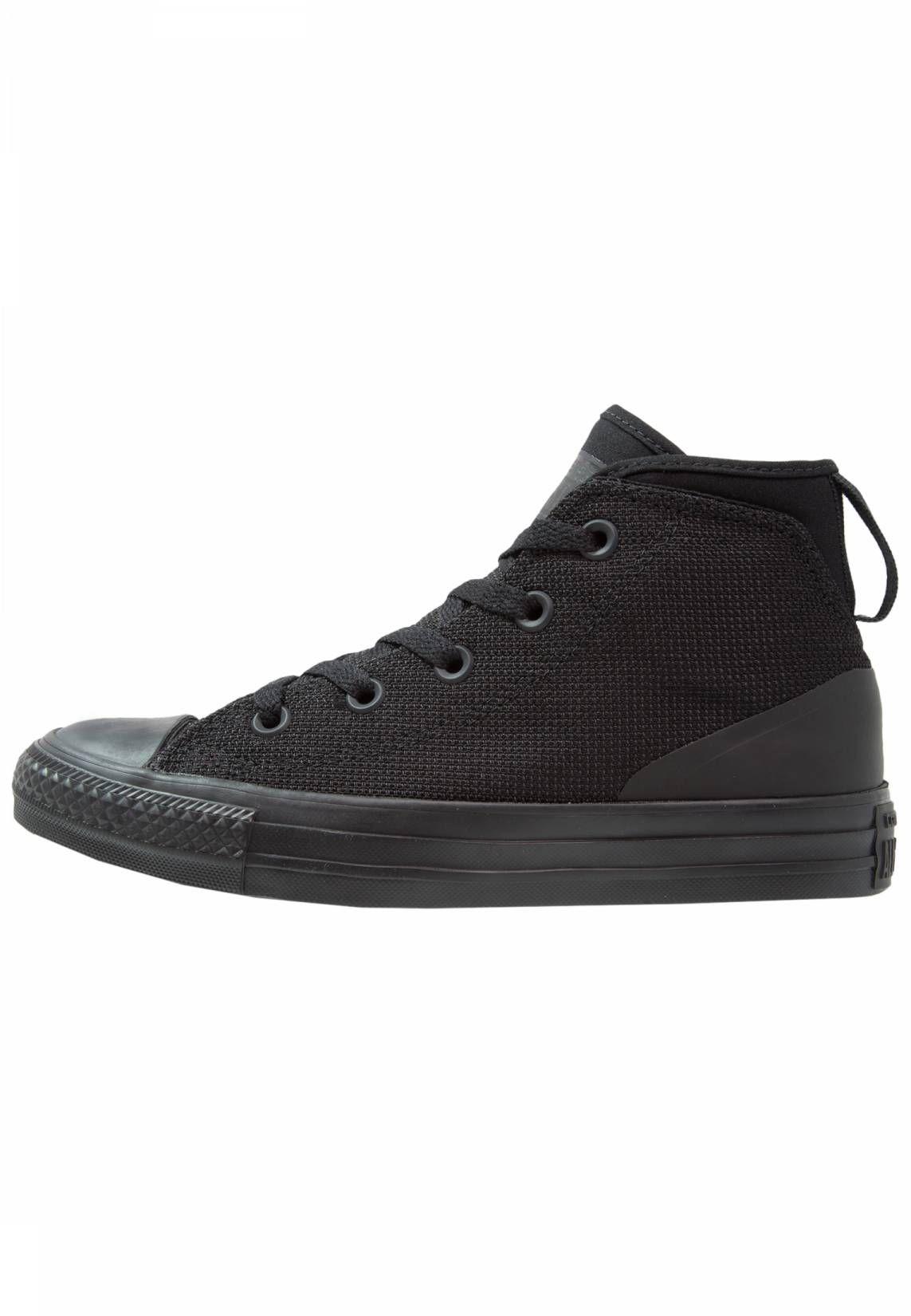 Converse. SYDE STREET Sneakers alte black. Fodera:senza