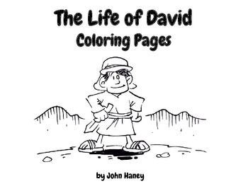 The life of david coloring pages teaching in haiti for King david coloring pages free