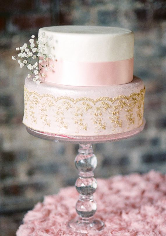 Pink And Gold Wedding Ideas Photo By Lisa Dolan Photography 100 Layer Cake