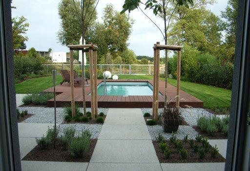 Garten Mit Pool Pool Im Garten Garten Wasserspiel Garten