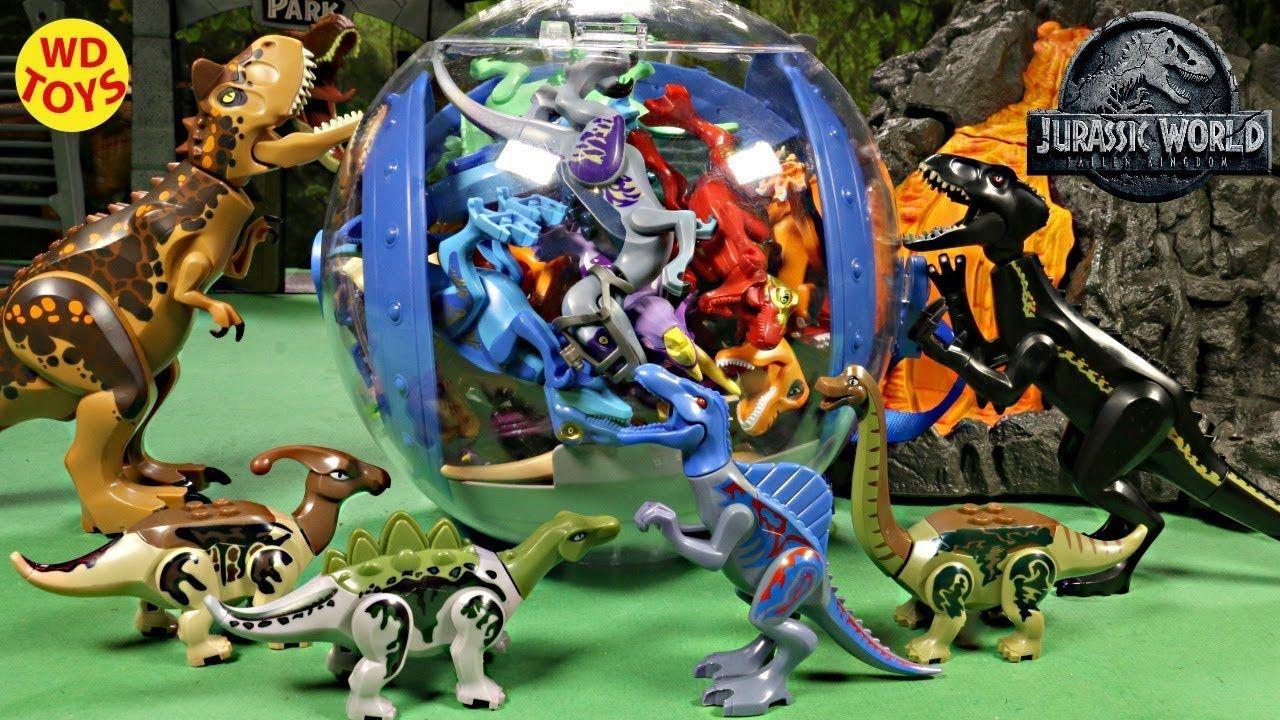 New 154 Lego Jurassic World Fallen Kingdom Surprise