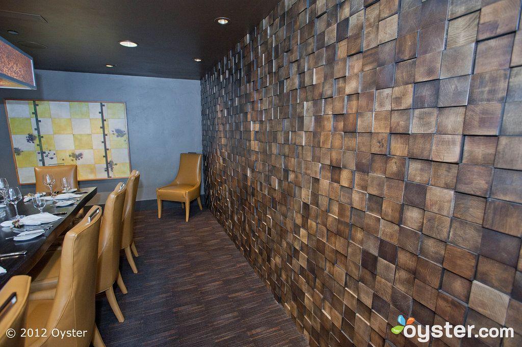 wood block wall. www.whatworksdesign.co.za | work ideas